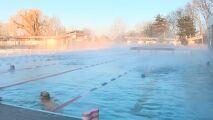 Un temps pour nager dehors à Strasbourg