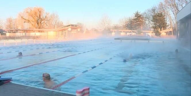 Les froides températures ne découragent pas les strasbourgeois !