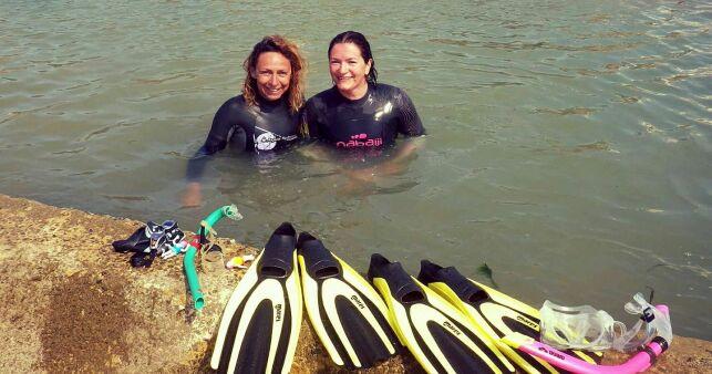 Les Gillos Palmaises : Nadine et Elisa