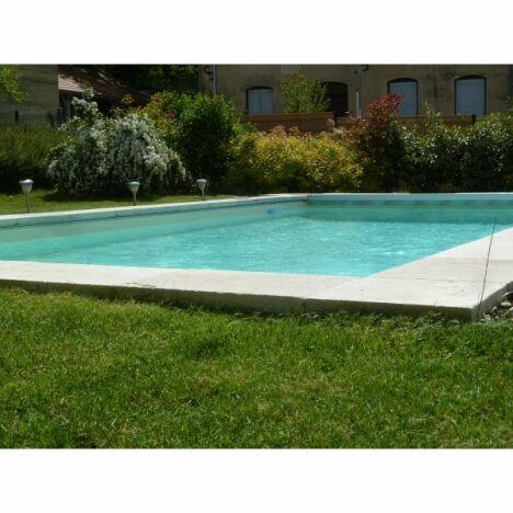 """Bassin traitement sel + PH auto + couverture Aquagard<span class=""""normal italic petit"""">© Les Jardins de l'Ouest</span>"""