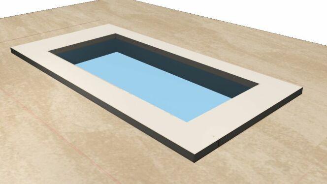 """Les logiciels de simulation de piscine permettent de représenter sa piscine.<span class=""""normal italic petit"""">© Simulateur Guide-Piscine</span>"""