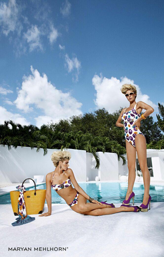 Les maillots de bain imprimés Martinez Drops par Maryan Mehlhorn (été 2013)