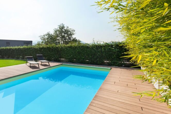 """Les matériaux possibles pour une piscine à panneaux modulaires<span class=""""normal italic petit"""">© Alexandre Zveiger - Fotolia.com</span>"""