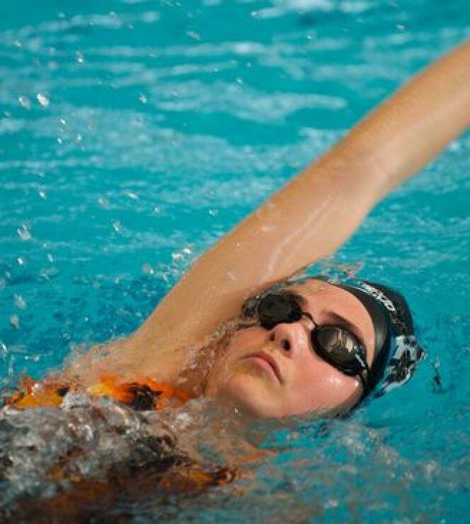 """Les muscles qui travaillent pendant la nage<span class=""""normal italic petit"""">© Fotolia</span>"""