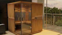 Les nouvelles cabines infrarouge de Clair Azur