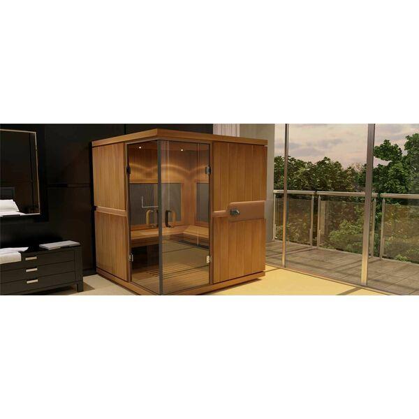 les nouvelles cabines infrarouge de clair azur. Black Bedroom Furniture Sets. Home Design Ideas
