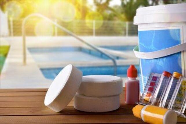Les pastilles tests pour l'analyse de l'eau d'une piscine