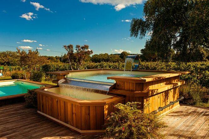 les piscines en bois bluewood les piscines en bois bluewood photo 2. Black Bedroom Furniture Sets. Home Design Ideas