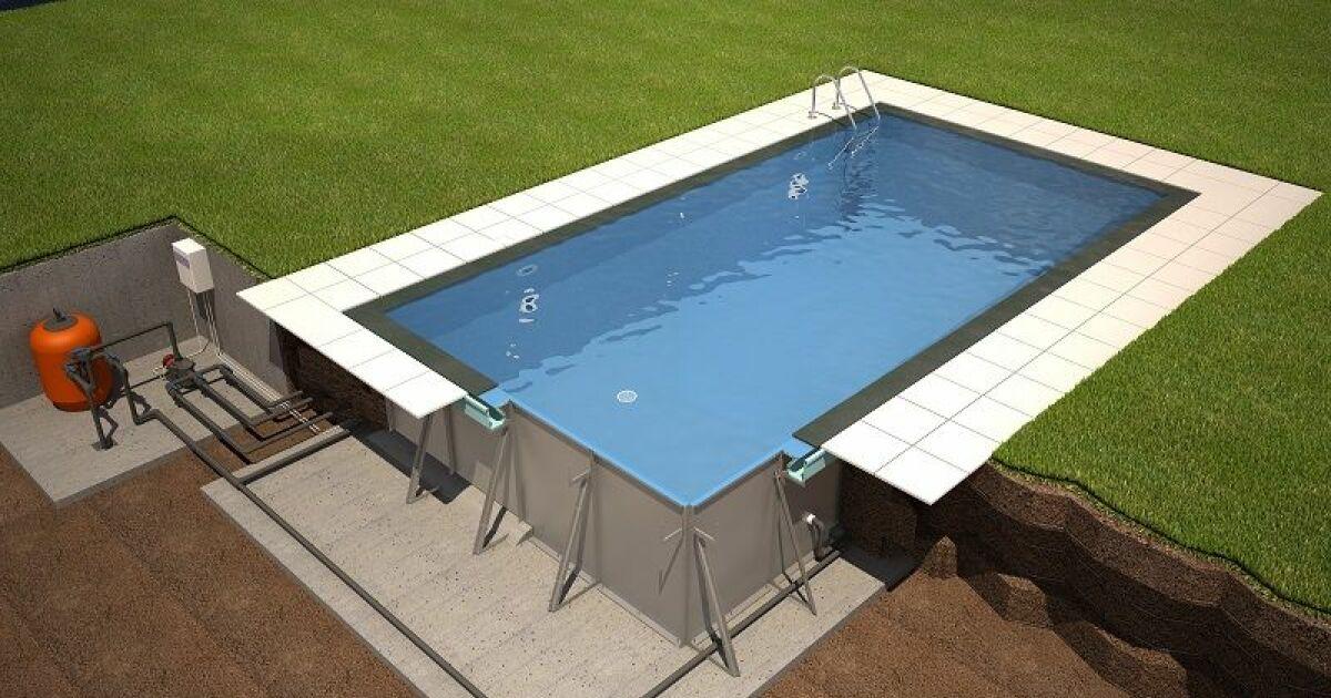 Les piscines miroir de soleo par rp industries for Piscine miroir technique de construction