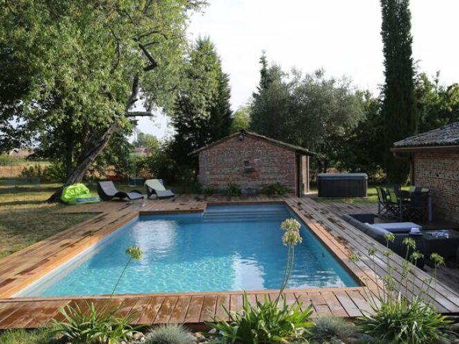 Les plus belles piscines rectangulaires en photo© Piscines Marinal