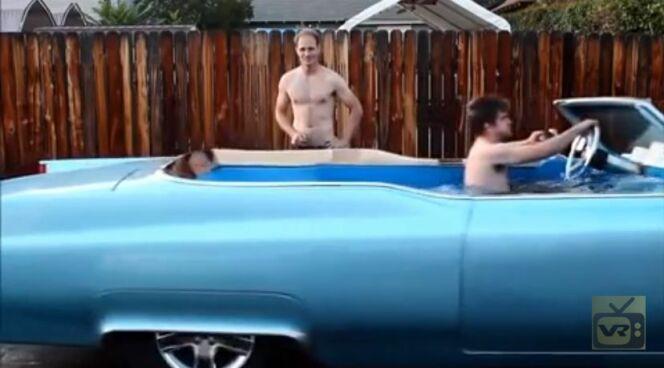 Les plus belles tentatives de transformation de voiture en voiture-piscine