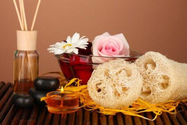 Seulement quelques produits sont indispensables pour profiter au mieux de sa séance de hammam.