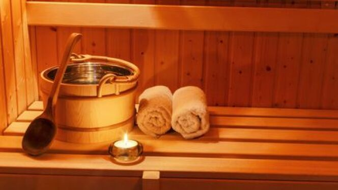 """Les rituels dans un sauna<span class=""""normal italic petit"""">DR</span>"""