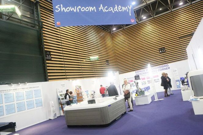 Les showrooms prennent de plus en plus d'importance, en témoigne le succès du Showroom Academy au Salon Piscine Global.