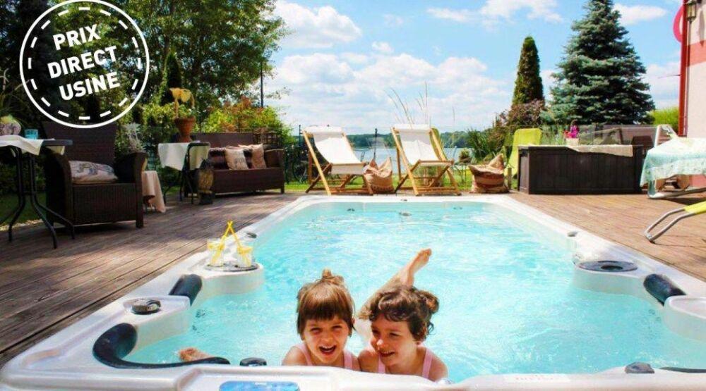 Les soldes Clairazur : des spas et des spas de nage à prix d'usine du 11 janvier au 21 février© Clairazur