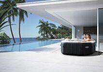 Les spas PureSpa Carbone, par INTEX : des spas gonflables haut de gamme