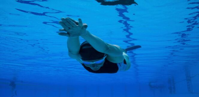 Les virages en 4 nages