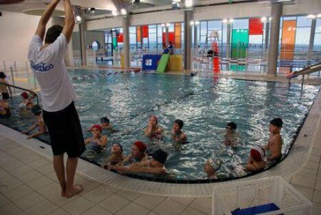"""Les cours de natation à la piscine Capoolco à Marquise<span class=""""normal italic petit"""">DR</span>"""
