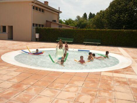 """Les enfants ont leur propre bassin à la piscine de Samatan<span class=""""normal italic petit"""">DR</span>"""