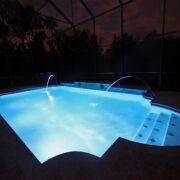 De a z eclairage piscine lumi re subaquatique lampe for Changer ampoule piscine