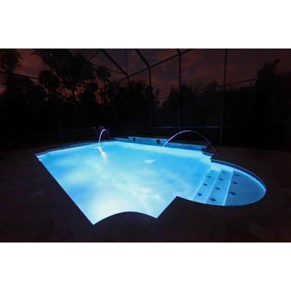 attrayant Les fibres optiques pour lu0027éclairage de votre piscine