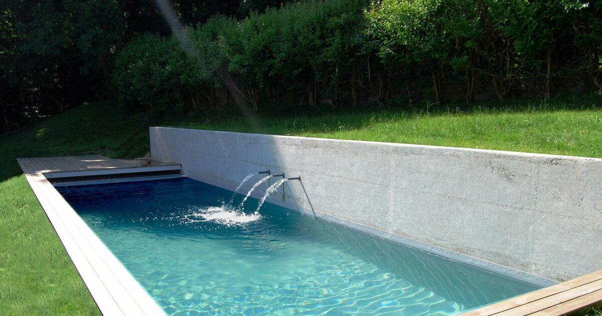 Photos de piscines design quand les piscines deviennent for Piscine x eau cognac