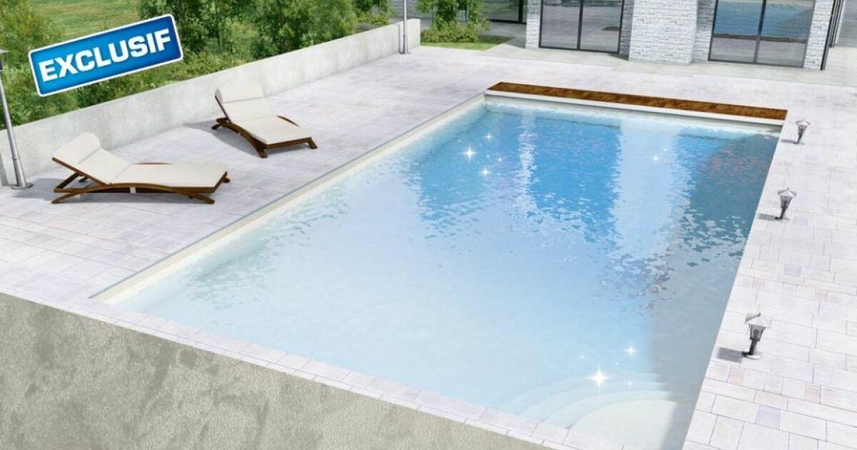 Donnez de l clat votre piscine avec les liners nacr s for Remplacement liner par resine piscine