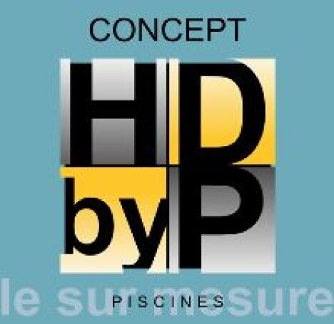 logo piscines by groupe hdp