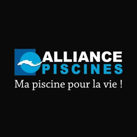 "Alliance Piscines, Ma piscine pour la vie !<span class=""normal italic petit"">© Logo_alliance</span>"