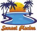 logo sunset piscine callian var