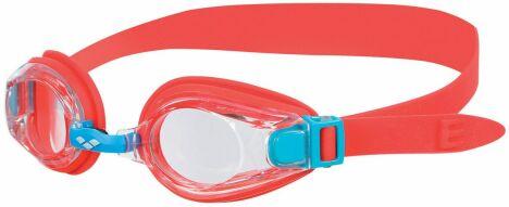 """Lunettes de piscine pour enfant rouge corail Multi Junior<span class=""""normal italic petit"""">© Arena</span>"""