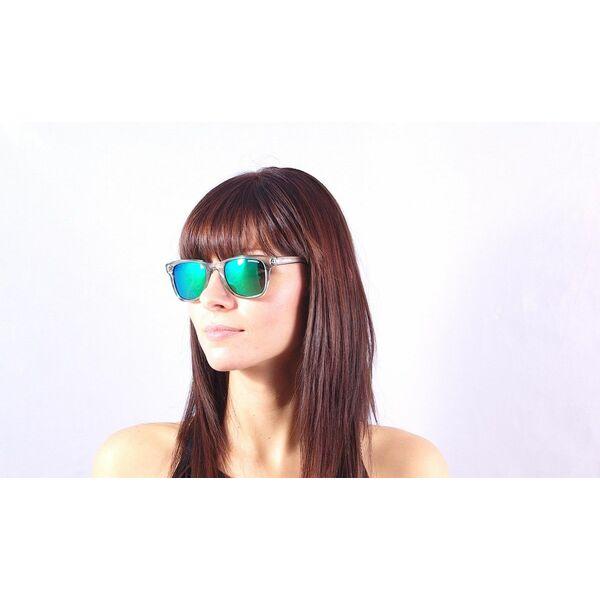 dangers a la piscine les du soleil lunettes de femme transparentes verres miroirs carrera  B