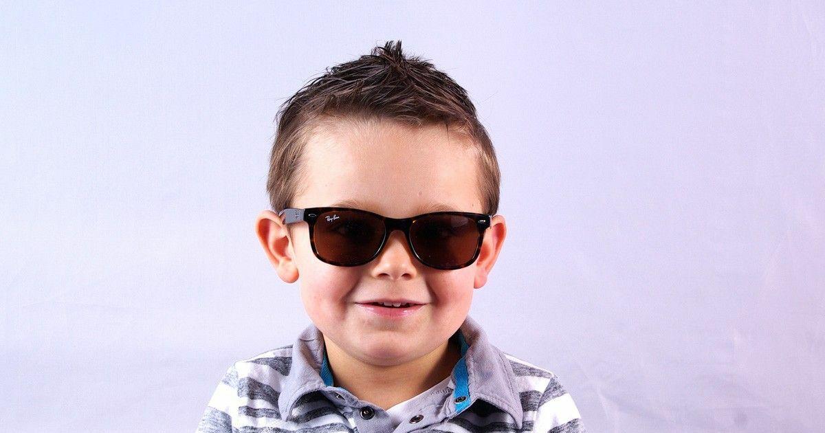 lunettes de soleil ray ban enfant cailles verres fum s t 2013. Black Bedroom Furniture Sets. Home Design Ideas