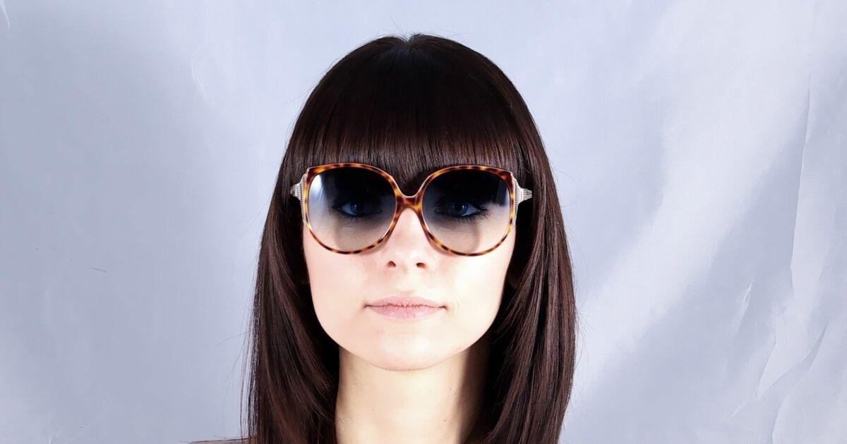 Lunettes de soleil Victoria Beckham écailles verres dégradés