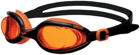 "Lunettes X-Flex orange et noir Arena<span class=""normal italic petit"">© Arena</span>"