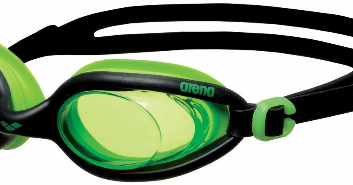 Lunettes natation piscine xflex vert noir arena - Lunettes de piscine correctrices ...