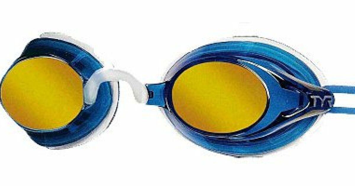 Lunettes de piscine miroir metallic ocean tyr for Lunette de piscine de vue