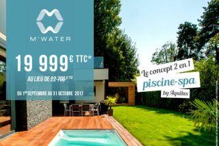 Promotion sur la piscine M'Water d'Aquilus