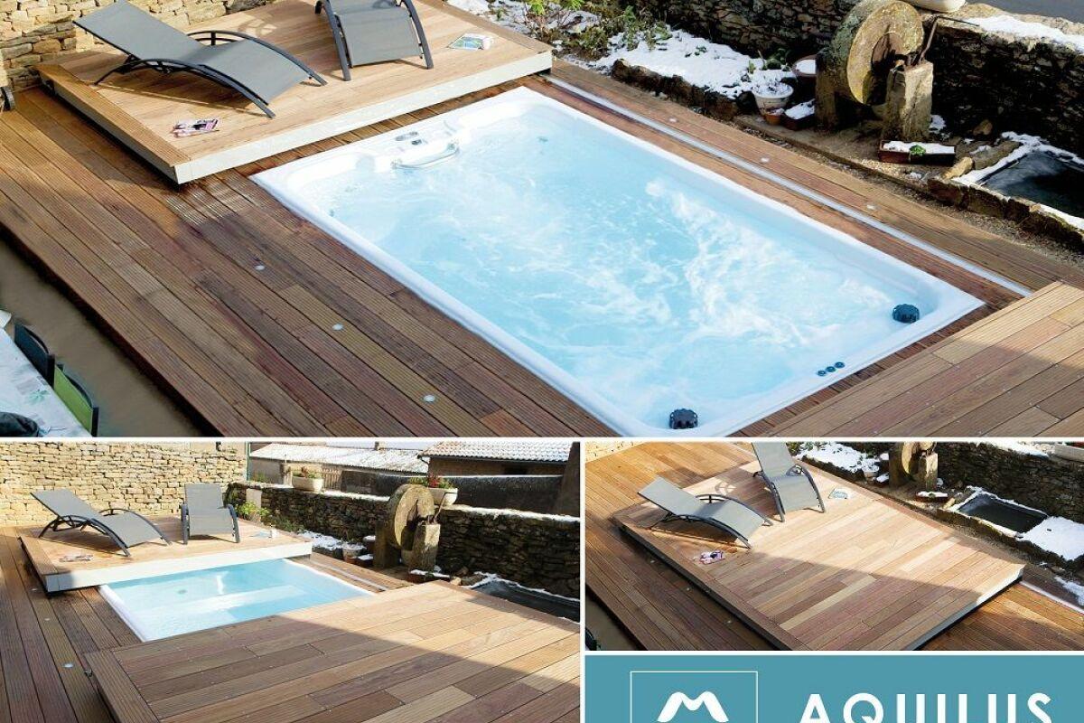 Prix Piscine Aquilus Mini Water m'water : un nouveau concept de piscine hybride par aquilus