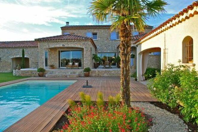 Ma piscine en août