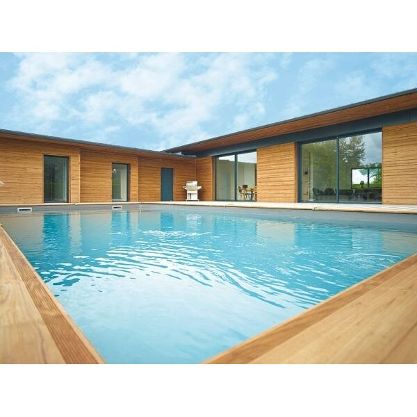 Ma va extr me la piscine en bois tr s haut de gamme for Piscine bois maeva