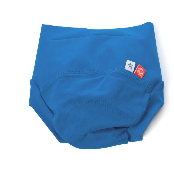 Maillot de bain bébé anti-fuite bleu Azur Hamac