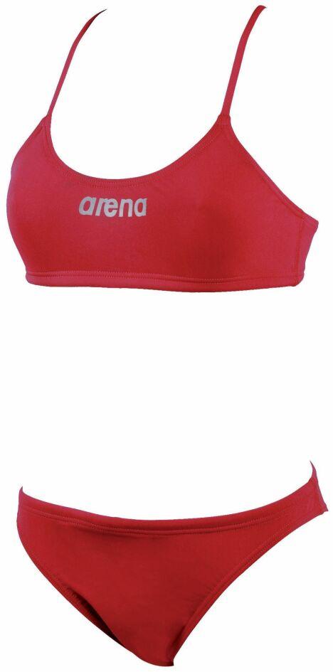 """Maillot de bain deux pièces rouge natation Lacy<span class=""""normal italic petit"""">© Arena</span>"""