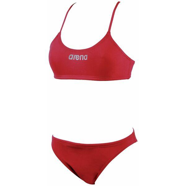 Maillot de bain deux pi ces femme piscine rouge lacy arena for Maillot deux pieces piscine