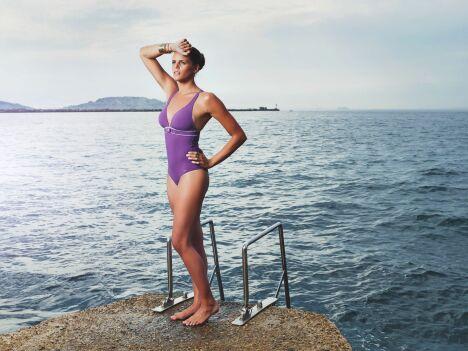 """Maillot de bain gainant 1 pièce """"Utopia"""" - Laure Manaudou Design"""