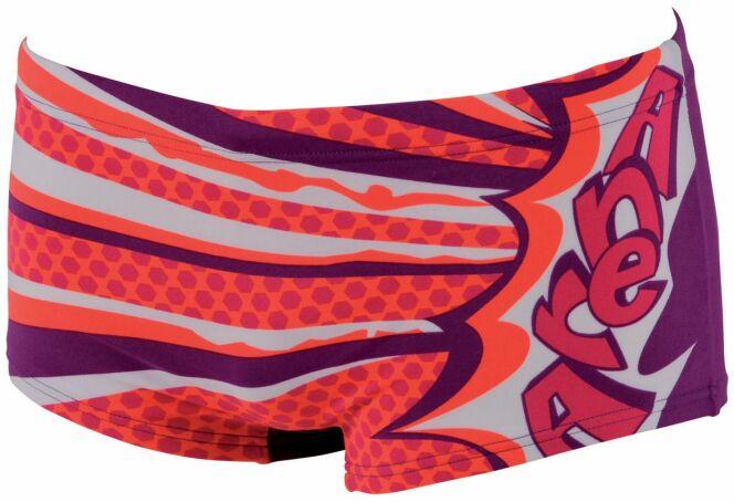 Maillot de bain garçon piscine rouge corail Barseille