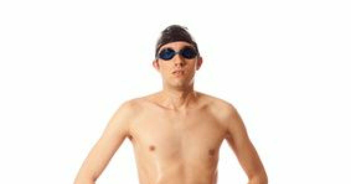 Produit maillot de bain jammer - Maillot de bain transparent piscine ...