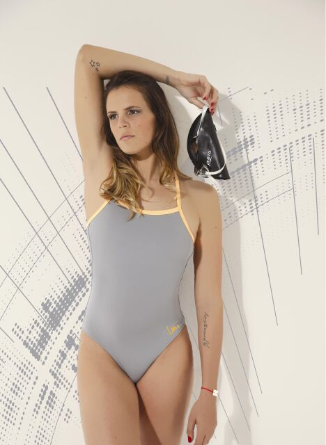 "Maillot de bain ""Naïade"" - Laure Manaudou Design, collection 2014<span class=""normal italic petit"">© Laure Manaudou Design</span>"