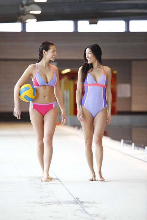 "Maillot de bain ""Skidrumo"" - Laure Manaudou Design, collection 2014  <span class=""normal italic petit"">© Laure Manaudou Design</span>"