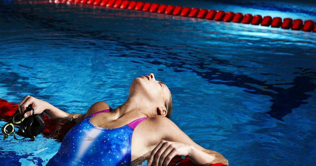 maillot de bain une pi ce bleu femme natation entrainement competition speedo 2013. Black Bedroom Furniture Sets. Home Design Ideas
